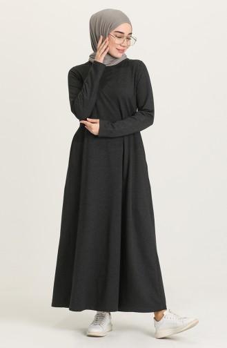 فستان فحم الإنتراسيت 3279-15