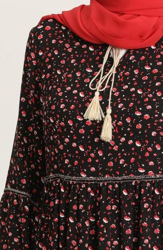 Schwarz Hijap Kleider 21Y8244B-01