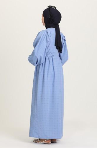 Robe Hijab Indigo 21Y8323A-02