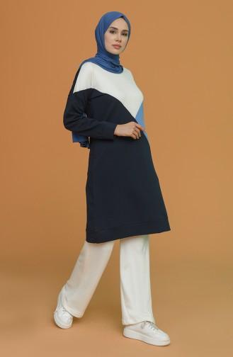 Tunique Bleu Marine 1056-02
