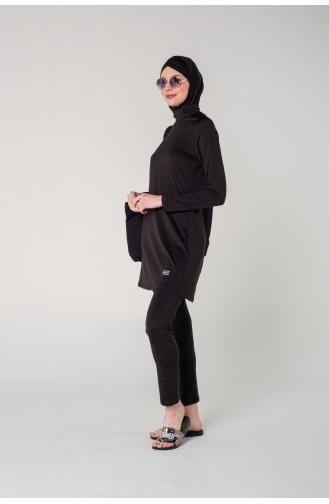 ملابس السباحة أسود 7120-01
