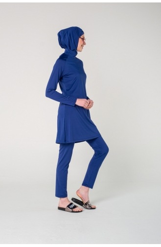 Navy Blue Swimsuit Hijab 7121-01
