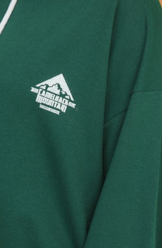 Green Sweatshirt 1122-02