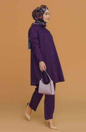 Plum Suit 1417-10