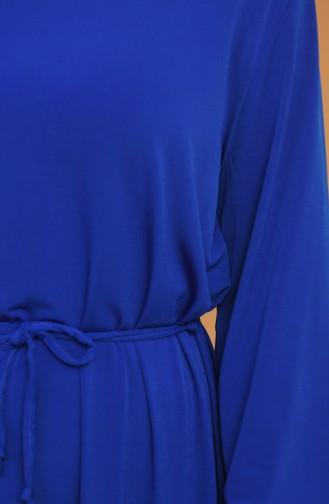 Saxe Hijab Dress 0571-01