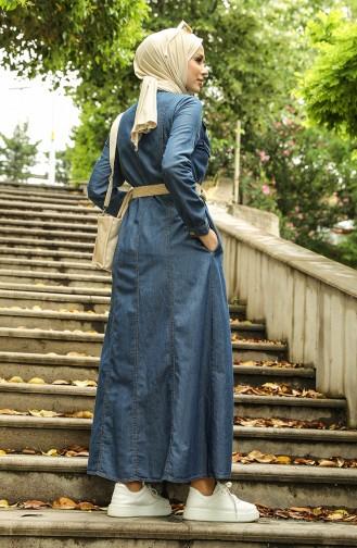 Robe Hijab Bleu Marine 6192-01