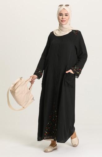 Black Abaya 0900-01