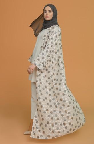 Beige Abayas 0901-01