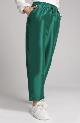 Pantalon Vert emeraude 0156-15