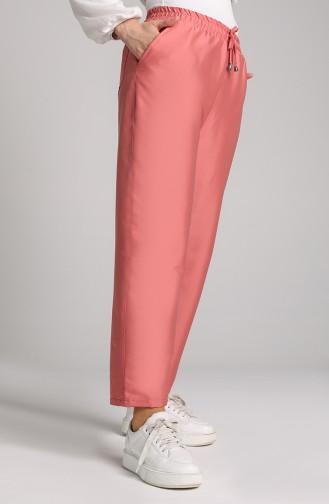 Pantalon Rose Pâle 0156-16