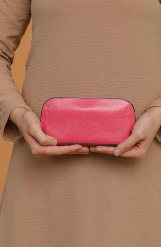 Pink Portfolio Clutch 1214-212