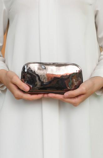 Grau Portfolio Handtasche 1214-221