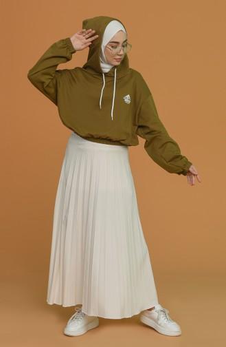 Khaki Sweatshirt 1122-03