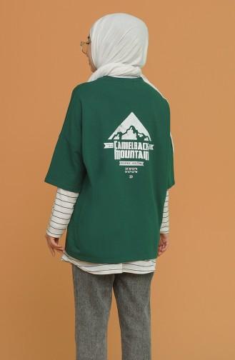 Green T-Shirts 1121-03