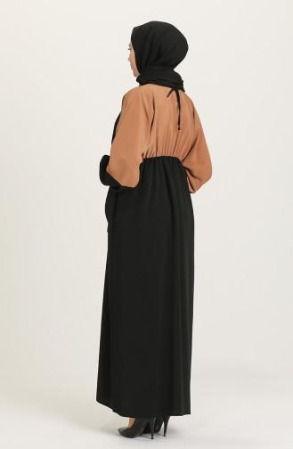 Black İslamitische Jurk 0197-01