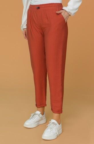 Brick Red Pants 2037-04