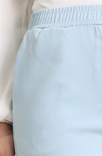 Pantalon Bleu 9046-12