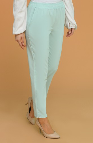 Mint Green Pants 9046-10