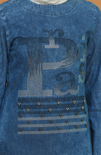 Tunique Bleu Jean 0838-01