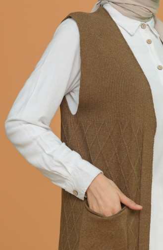 Gilet Sans Manches Tabac 4314-02
