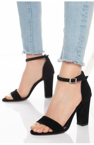 Chaussures a Talons Noir 0093-01