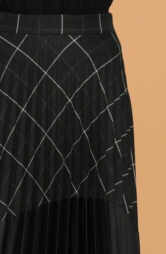 Piliseli Etek 5022ETK-01 Siyah
