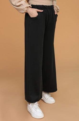 Pantalon Noir 0010-03