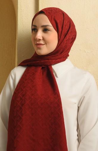Claret red Sjaal 15271-03