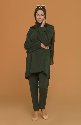 Khaki Suit 2396-03