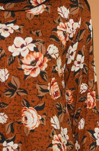 Braun Hijap Kleider 4552-01