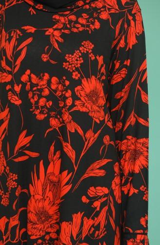 Robe Hijab Bordeaux 4552A-03