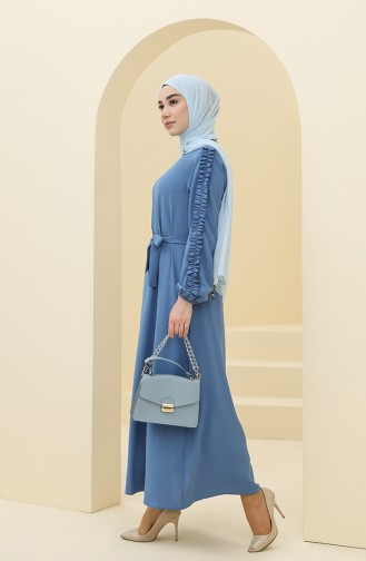 Robe Hijab Indigo 2001-01
