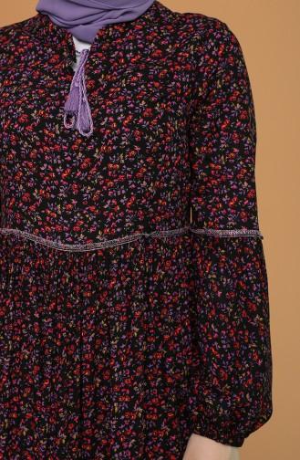 Robe Hijab Noir 21Y8276-03