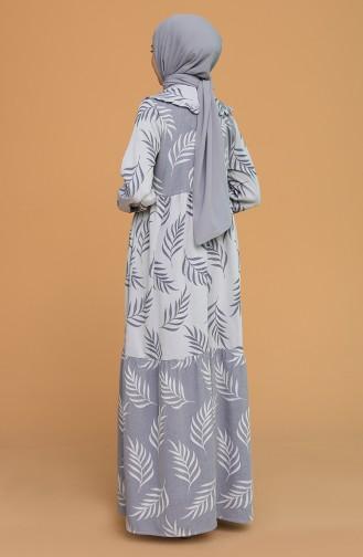 Bebe Yaka Elbise 21Y8379-03 Lacivert