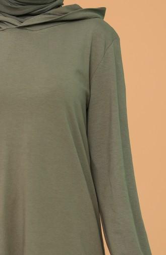 Dark Khaki Tunics 1629-20