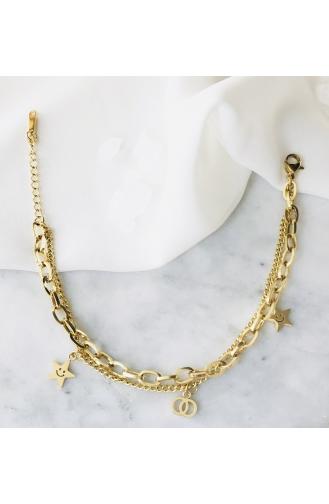 Bracelet Couleur Or 70021-01