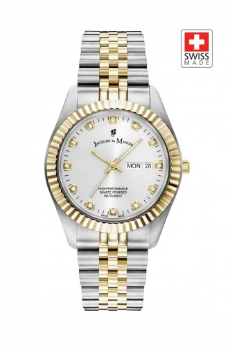 Silver Gray Wrist Watch 00303