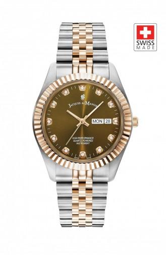 Silver Gray Wrist Watch 00307