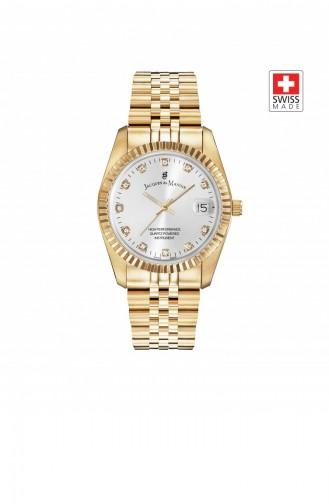 Gold Wrist Watch 11