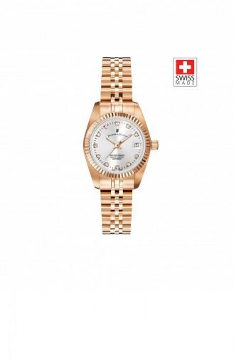 Rose Tan Wrist Watch 16