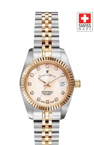 Silver Gray Wrist Watch 38