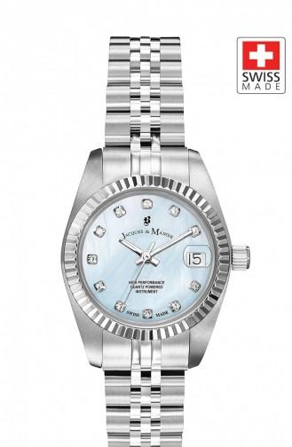 Silbergrau Uhren 48
