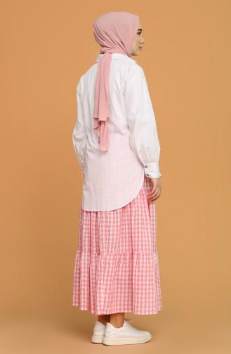 Pink Skirt 1636-04