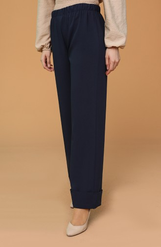 Pantalon Bleu Marine 3183-02