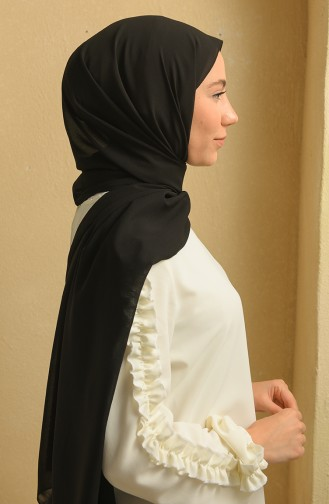 شال أسود 90125-07