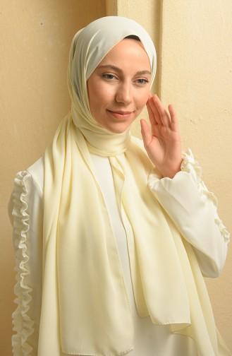 Cream Sjaal 90125-09