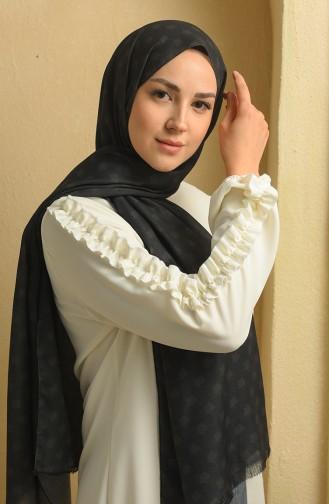 Black Sjaal 19066-01