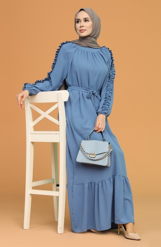 Indigo Hijap Kleider 1007-01