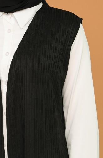 Gilet Sans Manches Noir 8330-01