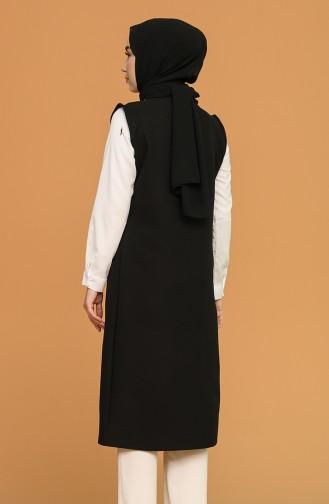 Gilet Sans Manches Noir 8331-01